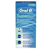 Oral-B Super Floss 50 Pieces Pre-Cut