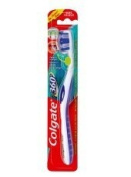 Colgate Toothbrushes 360 Degrees Compact Head Soft