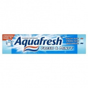 Aquafresh Fluoride Toothpaste Fresh & Minty 50ml