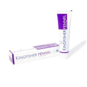 Kingfisher Natural Fennel Toothpaste (without Fluoride) - 100ml