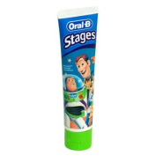 Oral-B Stages Toothpaste, Cars, 120ml Tubes