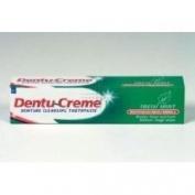 THREE PACKS of Dentu-Creme Denture Cleansing Toothpaste x 75ml