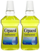 Cepacol Antibacterial Mouthwash and Gargle Gold 710 ml