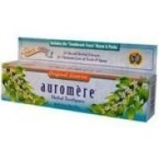 Auromere Licorice Ayurvedic Toothpaste (Pack of 12) 4.473 ml