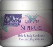 At One with Aloe Vera Super Gro Hair & Scalp Conditioner