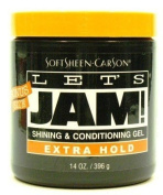 Lets Jam Shine + Conditioner Gel Extra Hold 414 ml Jar