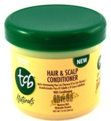 TCB Naturals Hair & Scalp Conditioner with Olive Oil 296 ml Jar