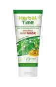 HERBAL TIME REPAIRING HAIR MASK WITH NETTLE & ARGAN - for dry and treated hair