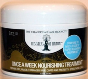 3 SISTERS OF NATURE / CURLY HAIR / ONCE A WEEK NOURISHING TREATMENT 236ml