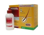 Fitoval Dermatological Lotion Against Hair Loss - Intensive Treatment Against Hair Loss and Limited Loss