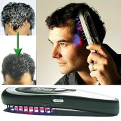 POWER GROW PERSONAL HOME LASER HAIR COMB KIT. SPECTACULAR ADVANCE IN HAIR TREATMENT WITH DUAL HIGH PRECISION LASER PHOTO THERAPY AND BIO STIMULATING VIBRATION TECHNOLOGY. STOPS HAIR LOSS AND MAKES HAIR GROW THICKER, STRONGER AND HEALTHIER. ..