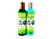 Jinda Anti-hair Loss Reduce Hair Fall Falling Thin Bald Shampoo & Conditioner Made In Thailand