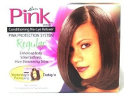 Lusters Conditioning No-lye Relaxer Kit Regular Strength with Pink Protection System