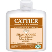 Cattier Shampoo with yoghurt solution for frequent use 250ml