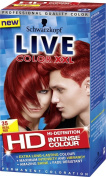 Schwarzkopf LIVE Colour XXL 35 Real Red