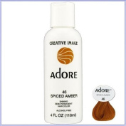 RINSE OUT SEMI-PERMANENT HAIR COLOUR SPICED AMBER(46) 118ML