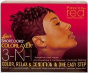 lustre'S SHORTLOOKS colour RELAXER 7.6cm 1 PASSION RED SEMI-PERMANENT