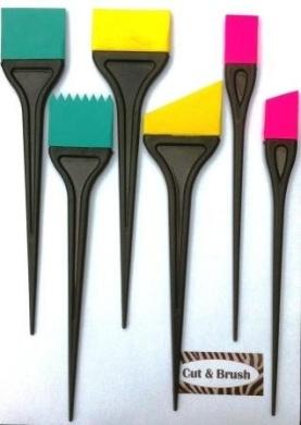 Hair colouring Dying Brushs Highlighting Brushs