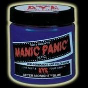 Manic Panic Semi Permanent Hair Dye Colour Cream - After Midnight Blue