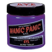 MANIC PANIC Semi-Permanent Hair Colour Cream Ultra Violet 120ml