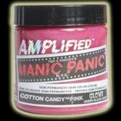 Manic Panic AMPLIFIED Semi Permanent Hair Dye Colour Cream - Cotton Candy Pink 118ml