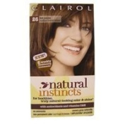 Clairol Natural Instincts Hair Colour # 26 Hot Cocoa, Medium Bronze Brown - 1 Application