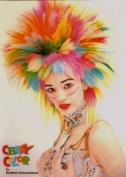 Renbow Crazy Colour Hair Dye (Colour Cream) 100ml - Fire (Red) Complete Bleaching Kit