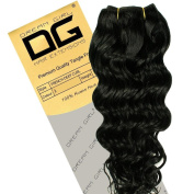 Dream Girl 46cm Colour 1 French Deep Curl Hair Extensions