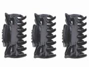 Glitz4Girlz 4cm Black Clamps