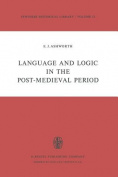 Language and Logic in the Post-medieval Period