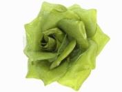 Glitz4Girlz Green Rose Hair Clip