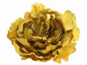 Glitz4Girlz Gold Flower Hair Clip