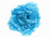 Glitz4Girlz Light Blue Flower Hair Clip