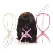 Wig Stand | Portable Plastic Wig Stand | Lightweight Storage Option for your wigs