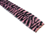 Clip In Hair Extensions 30cm Light Baby Pink Tiger Zebra Print Emo Punk Goth Scene