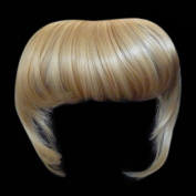 Fringe Bang Clip in Hair Extensions STRAIGHT Golden Blonde #26