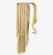 Forever Young 50cm Clip In Pony Tail Hair Extension Wrap Around Ponytail Hair Extension Piece Ash & Bleach Blonde Mix 16/613#