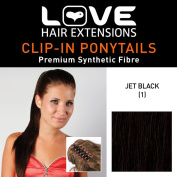 Love hair Extensions Alice Crocodile Clip Synthetic Hair Ponytail Colour