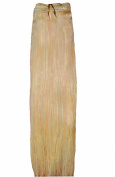Forever Young Premium Double Weft Human Hair Extension Full Head Weft Vanilla Blonde #60cm x 46cm Long
