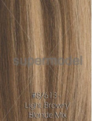 60cm Indian Remi Hair Weft Gurantee for Sew in or Glue in-Light Brown/Blonde mix 8/613