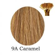 20'' Pre-Bonded Stick Tip Indian Remy Grade A 0.9g #9A Light Brown