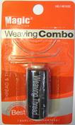 Weaving Combo Thread & 3 Needles - For Weaving Hair