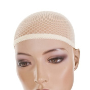 Fish Net Wig Cap in Blonde | pack of 3