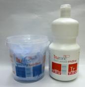 SETS OF TRUZONE CREAM PEROXIDE 6% (20 VOL) 1000ML & RAPID BLUE HAIR BLEACH 500GM