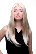 FAERY Quality Lady Wig BLONDE blond long straight middle partingElven Beauty Fairy Cosplay