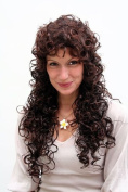 GREEK GODDESS mediterranean beauty LADY QUALITY WIG long BRUNETTE mix CURLS