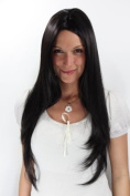 POCAHONTAS Wig BLACK middle parting LONG sexy