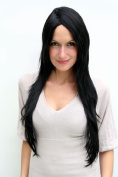 POCAHONTAS Quality Lady Wig BLACK Native/Indian Beauty, straight VERY LONG