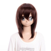 SureWells Fabulous Wigs costume wig medium brown wig of Vampire Knight wig lacefront wig for girls party wig