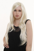 SUPERNATURAL BEAUTY Lady Quality Wig sexy parting EXTREMELY LONG bright elfin blonde platinum blond wavy 3402-613